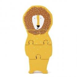 Drewniane puzzle Mr Lion