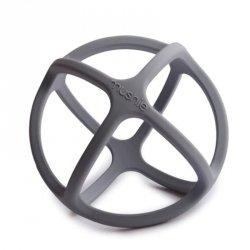 Gryzak sensoryczny 3D silikonowy BALL Dove Grey