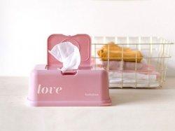 Pojemnik na Chusteczki, Vintage Pink Love