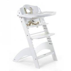 Krzesełko do karmienia Lambda 3 White, 6m+