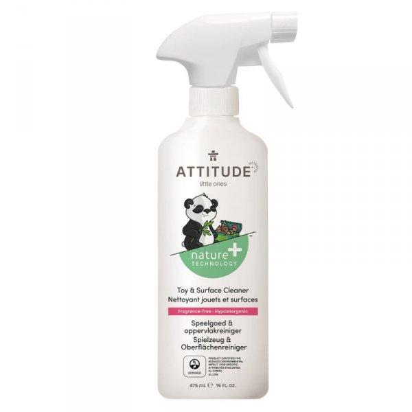 Płyn do czyszczenia zabawek i powierzchni w pokoju dziecka Bezzapachowy (fragrance free) 475 ml