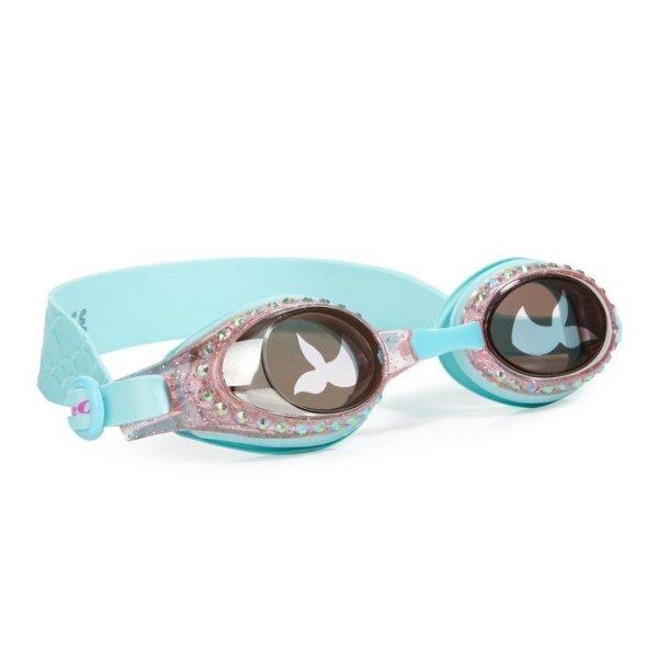 Okulary do pływania, Syrenka, Turkus, 3+