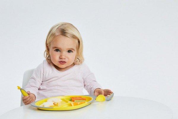 Pierwsze sztućce dla niemowląt, Lemon Sherbet, 9m+