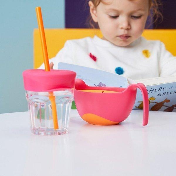Nakładki silikonowe na szklankę, Strawberry Shake