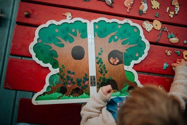 Magnetyczna układanka Drzewo