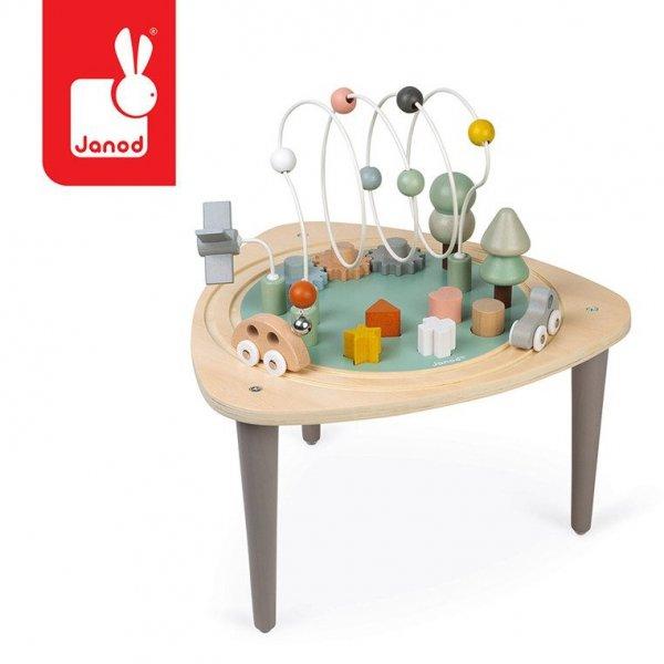 Wielofunkcyjny stolik edukacyjny drewniany Sweet Cocoon