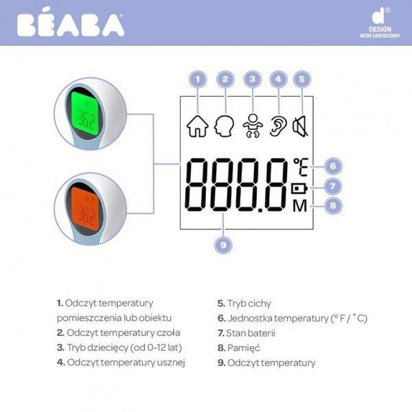 Termometr elektroniczny bezdotykowy wielofunkcyjny Thermospeed
