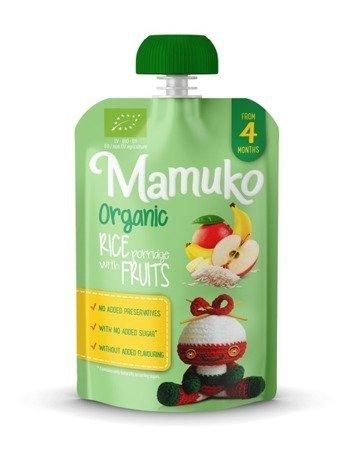 Deser mleczno-ryżowy BIO banan mango jabłko