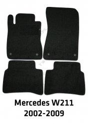 Dywaniki welurowe Mercedes W211 E-klasa