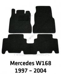 Dywaniki welurowe Mercedes W168 A-klasa