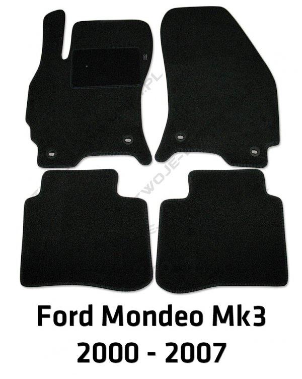 Dywaniki welurowe Ford Mondeo
