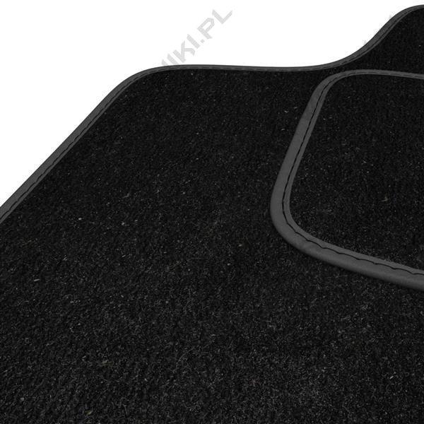 Dywaniki welurowe - Chrysler 300C - czarne