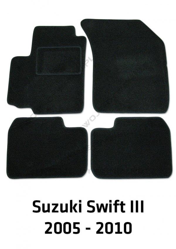 Dywaniki welurowe Suzuki Swift