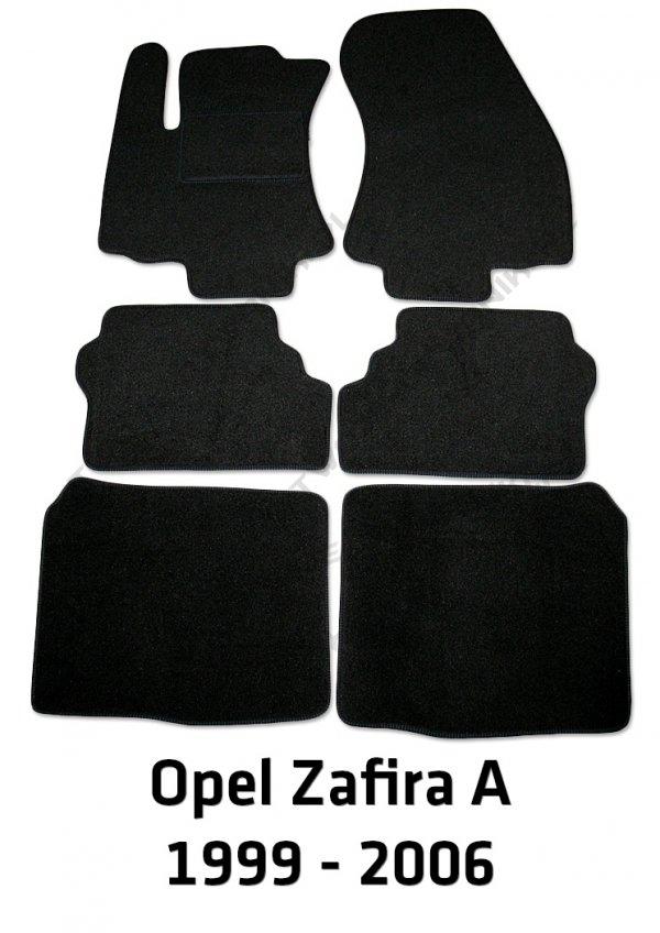 Dywaniki welurowe Opel Zafira