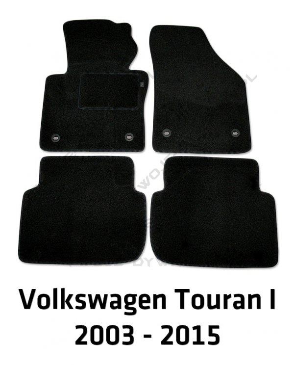 Dywaniki welurowe Volkswagen Touran