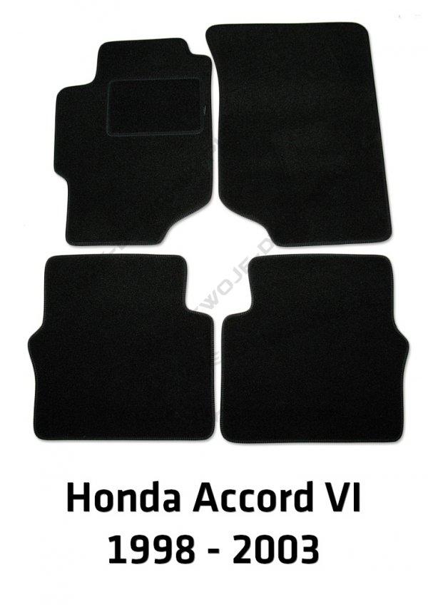 Dywaniki welurowe Honda Accord