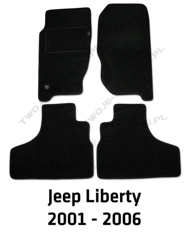 Dywaniki welurowe Jeep Liberty