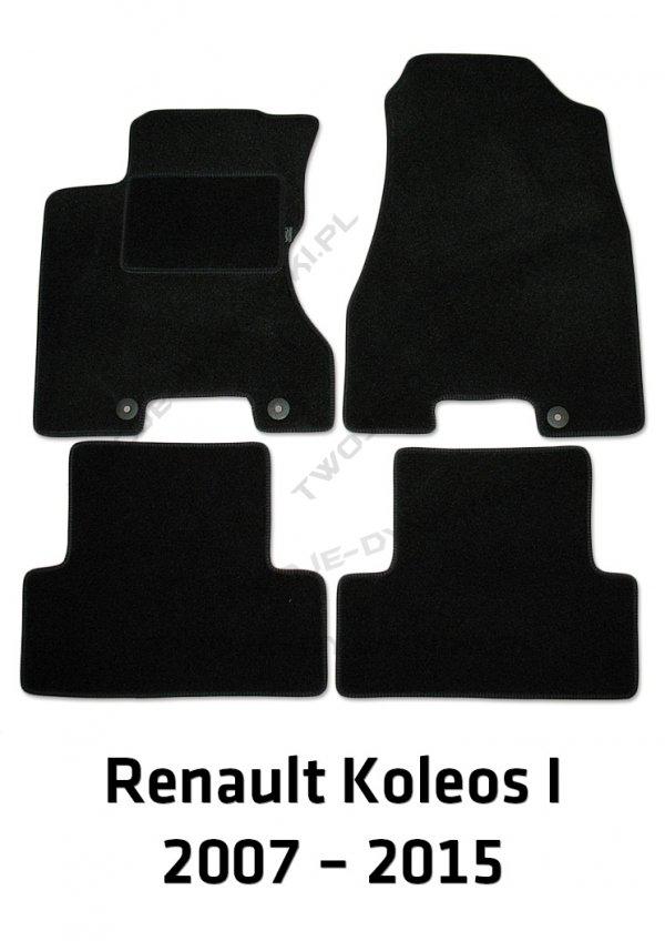 Dywaniki welurowe Renault Koleos