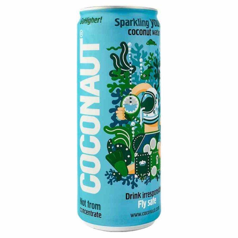 Woda gazowana z młodego kokosa Coconaut, 320ml