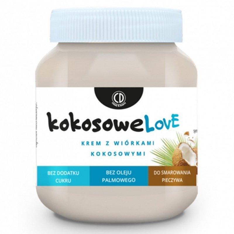 Krem z wiórkami kokosowymi - KOKOSOWELOVE CD, 320g