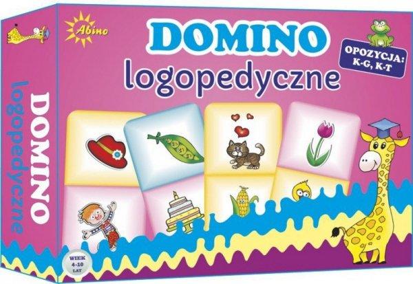 Gra Domino Logopedyczne K-G K-T