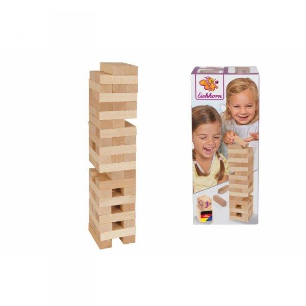 EICHHORN Gra Chwiejąca Wieża Jenga Klocki Drewniane