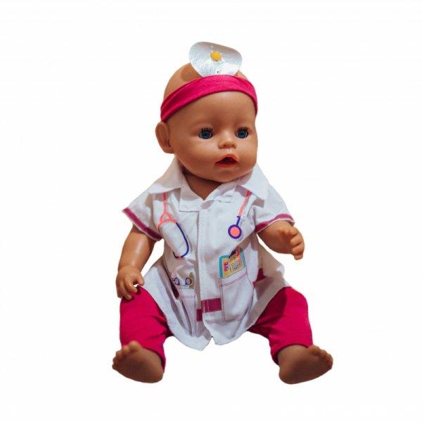 WOOPIE Ubranko dla Lalki Strój Doktora Lekrza 43-46 cm