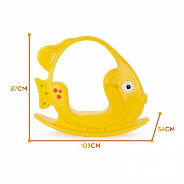 WOOPIE Bujak Rybka Żółty do 35 kg