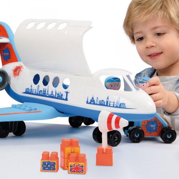 Ecoiffier Abrick Klocki Samolot 30 elementów