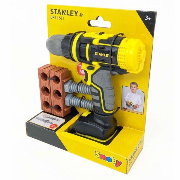 Smoby Stanley Jr. - Mechaniczna Wiertarko - wkrętarka