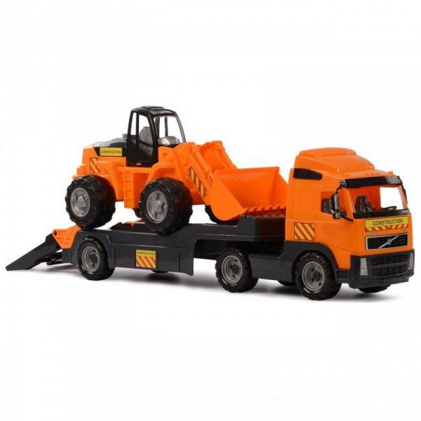 Wader QT Volvo Zestaw Ciężarówka Laweta Koparka 90 cm