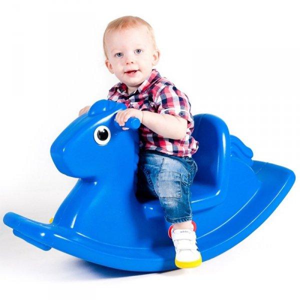 Little Tikes Niebieski Koń Na Biegunach Bujak