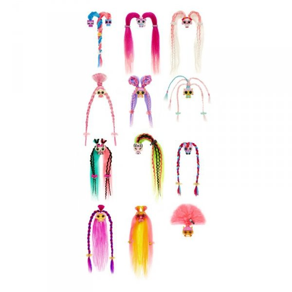 Pop Pop Hair Surprise - Zestaw z laleczką i pupilkiem 3w1 - Fancy - Seria 1
