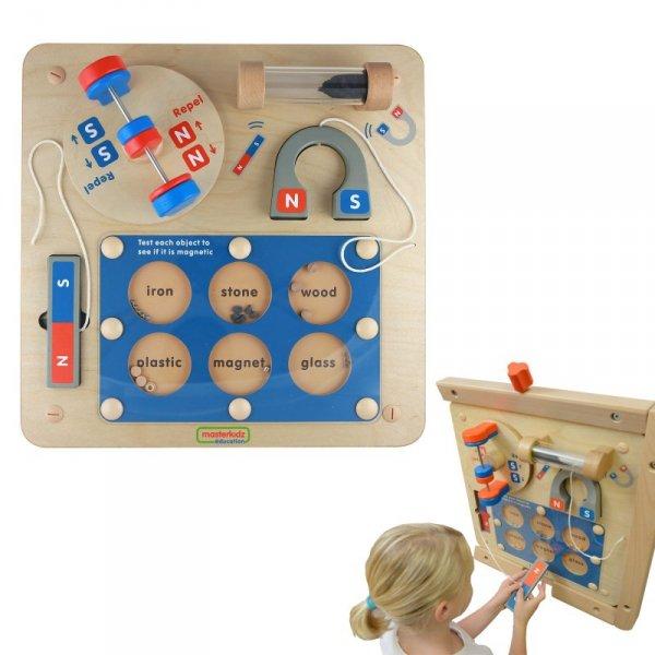 Nauka o Przyciąganiu Magnetycznym - Tablica Edukacyjna Masterkidz