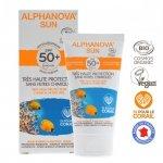Alphanova Sun, BIO Krem przeciwsłoneczny, hipoalergiczny, wodoodporny, filtr SPF50, 50g