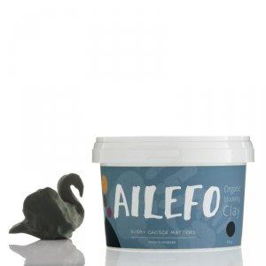Ailefo, Organiczna Ciastolina, duże opakowanie, zieleń, 540g