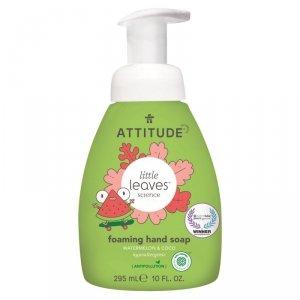 Attitude, Little Ones, Mydło w piance do rąk dla dzieci, Little Ones, Arbuz i Kokos, 295 ml