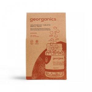 Georganics, Naturalne tabletki do płukania jamy ustnej, Orange, 720 tabletek