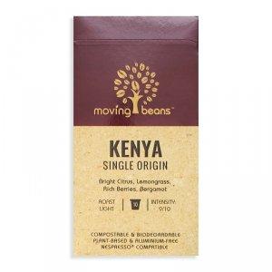 Moving Beans, Kawa w kapsułkach kompostowalnych Kenya Single Origin, 10 szt.