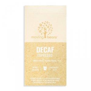 Moving Beans, Kawa w kapsułkach kompostowalnych Decaf Espresso, 10 szt.