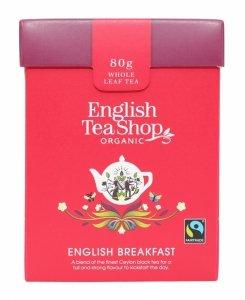 English Tea Shop, Herbata sypana, English Breakfast, 80 g