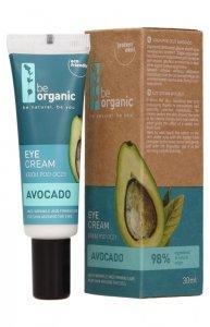 Be Organic, Krem pod oczy AWOKADO, 30 ml