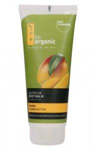 Be Organic, Balsam do ciała, Mango i Masło Shea, 200ml