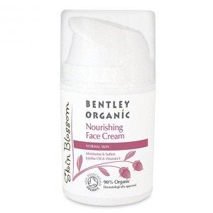 Bentley Organic, Skin Blossom, Odżywiający krem do skóry normalnej, 50ml