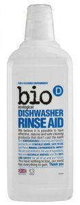 Bio-D, Nabłyszczacz do zmywarek, 750 ml