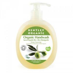 Bentley Organic, GŁĘBOKO OCZYSZCZAJĄCE Mydło w Płynie z Oliwką, Olejkiem Herbacianym i Eukaliptusem, 250 ml