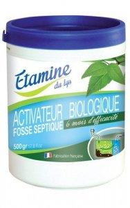 Etamine du Lys, Organiczny preparat do oczyszczania pojemników na wodę, kanalizacji, studzienek ściekowych i ekologicznych szamb, 500 g