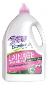 Etamine du Lys, Płyn do prania delikatnych tkanin i wełny Organiczna Lawenda, 3000 ml