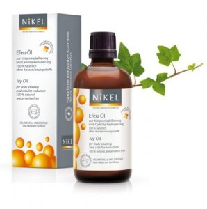 NIKEL, Olejek z wyciągiem z liści Bluszczu antycellulitowy i liftingujący 100% naturalny, 100ml,