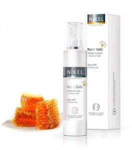 NIKEL, Mleczko do ciała z Mleczkiem Pszczelim wspomagające gojenie się podrażnień, 200ml